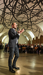 15.02.2014, Museumsquartier, Wien, AUT, NEOS, Nominierungskonvent fuer die EU-Wahlen. im Bild Klubobmann NEOS Matthias Strolz // Leader of the Parliamentary Group NEOS Matthias Strolz during nominationkonvent of NEOS EU election at Museumsquartier in Vienna, Austria on 2014/02/15. EXPA Pictures © 2014, PhotoCredit: EXPA/ Michael Gruber