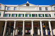 Built as the Corn Exchange in 1820 then became the Essex and Suffolk Fire Office building, Colchester, Essex, England
