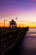 San Clemente Pier on a Summer Night