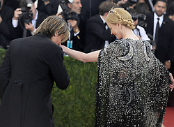 Nicole Kidman and singer Keith Urban attending the Manus x Machina: Fashion in an Age of Technology Costume Institute Benefit Gala at Metropolitan Museum of Art on May 2, 2016 in New York City, NY, USA. Photo by Dennis Van Tine/ABACAPRESS.COM  | 545210_128 New York City Etats-Unis United States