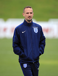 England Women manager Mark Sampson during the training session at St George's Park, Burton.