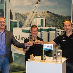 HARDERWIJK: CYCLING: SEPTEMBER 15th: <br /> De IJsselstreek gaat met ingang van 1 januari 2022 als continentaal wielerteam de weg op onder de noemer Allinq Continental Cycling Team. Daarmee heeft de vereniging uit Harderwijk twintig jaar na het verdwijnen van de Golff-wielerploeg weer een semiprofessioneel boegbeeld<br /> Marc Zonnebelt, Rudy Vriend en Wim Breukers proosten op een mooie toekomst