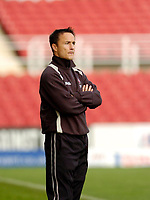 Photo: Leigh Quinnell.<br /> Swindon Town v Boston United. Coca Cola League 2. 30/09/2006. Swindon boss Dennis Wise on the touch line.