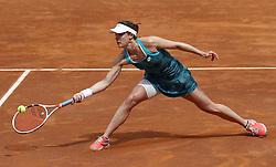 May 14, 2019 - Rome, Italy - Alize Cornet (FRA) during the WTA Internazionali d'Italia BNL first round match at Foro Italico in Rome, Italy on May 13, 2019. (Credit Image: © Matteo Ciambelli/NurPhoto via ZUMA Press)