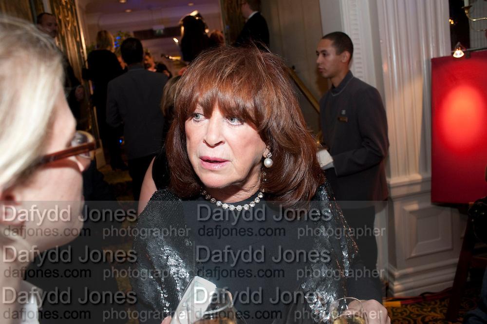 LYNDA LA PLANTE, Specsavers Crime Thriller Awards.  Award ceremony celebrating the best in crime fiction and television. <br /> Grosvenor House Hotel, Park Lane, London. 21 October 2009