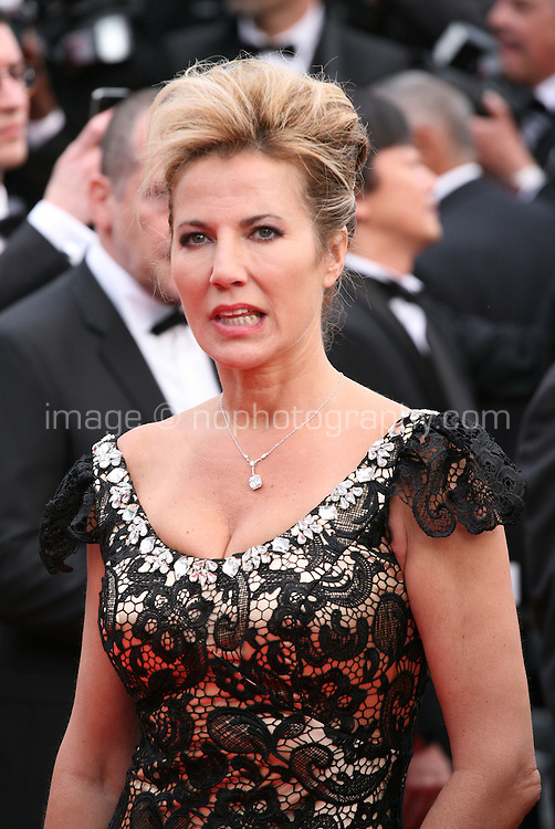 Natacha Amal at the the Grace of Monaco gala screening and opening ceremony red carpet at the 67th Cannes Film Festival France. Wednesday 14th May 2014 in Cannes Film Festival, France.