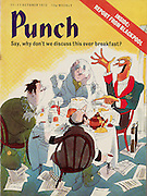 PUNCH magazine Front Cover