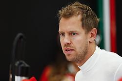 August 25, 2017 - Spa-Francorchamps, Belgium - Motorsports: FIA Formula One World Championship 2017, Grand Prix of Belgium, .#5 Sebastian Vettel (GER, Scuderia Ferrari) (Credit Image: © Hoch Zwei via ZUMA Wire)