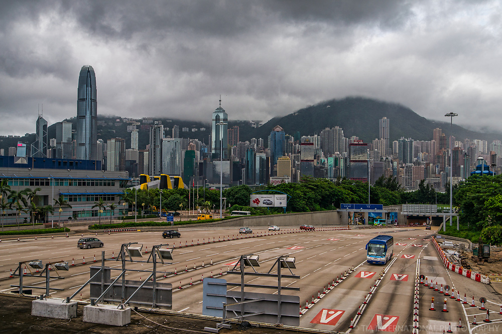 West Kowloon Highway & Tunnel to Central District