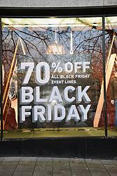 Black Friday, Norwich UK 29/11/19. Next shop