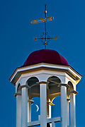 Wind vane, Cheshire Mills Historic Structure, October, evening light, Cheshire County, Harrisburg, New Hampshire, USA