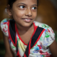 Mim Hanif lives with her family in the Outfall Slum in Dhaka, Bangladesh. North American aid group World Renew supports her family through local organisation SATHI.