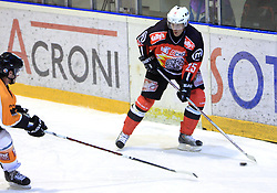 Conny Stromberg at Erste Bank Eishockey Liga (EBEL) 2008/2009 match between HK Acroni Jesenice and Eishockeyclub Graz 99ers, on January 9, 2009, in Dvorana Podmezaklja, Jesenice, Slovenia. (Photo by Vid Ponikvar / SportIda).
