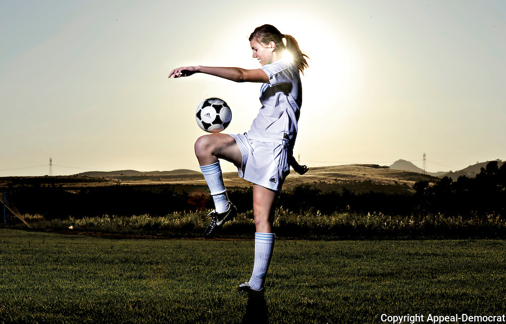 Jaymi Hill of Sutter High scored 29 goals and had 24 assists this season. She helped her team win their 6th straight Northern Section Title with 7 goals in two post season games.
