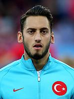 Uefa - World Cup Fifa Russia 2018 Qualifier / <br /> Turkey National Team - Preview Set - <br /> Hakan Calhanoglu