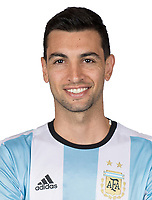 Conmebol - World Cup Fifa Russia 2018 Qualifier / <br /> Argentina National Team - Preview Set - <br /> Javier Pastore