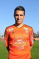 Yann Jouffre - 02.11.2015 - Portrait Officiel Lorient<br /> Photo : Philippe Le Brech / Icon Sport