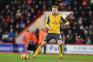 Arsenal Midfielder, Aaron Ramsey (8) during the Premier League match between Bournemouth and Arsenal at the Vitality Stadium, Bournemouth, England on 3 January 2017. Photo by Adam Rivers.