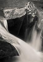 small cascade on Bingo Creek, Green Mtn National Forest near Rochester, VT