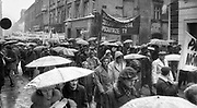 Manifestacja z okazji rocznica odzyskania niepodległości , Kraków, ul. Grodzka. Dokładna data nie ustalona (1978? 1980?)