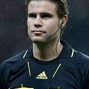 Referee's Felix BRYCH during their UEFA EURO 2012 Play-off for Final Tournament First leg soccer match Turkey betwen Croatia at TT Arena in Istanbul Nüovember11, 2011. Photo by TURKPIX