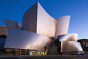 Walt Disney Concert Hall by Architect Frank Gehry, Los Angeles California