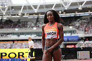 Funmi Jimoh during the Sainsbury's Anniversary Games at the Queen Elizabeth II Olympic Park, London, United Kingdom on 25 July 2015. Photo by Phil Duncan.