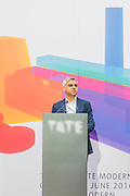 Sadiq Khan thanks Nicholas Serota for his vision -  The new Tate Modern will open to the public on Friday 17 June. The new Switch House building is designed by architects Herzog & de Meuron, who also designed the original conversion of the Bankside Power Station in 2000.