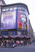 ATBK8E Les Miserables Queens theatre Shaftesbury Avenue West End London England
