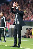 Chelsea's coach Antonio Conte during UEFA Champions League match between Atletico de Madrid and Chelsea at Wanda Metropolitano in Madrid, Spain September 27, 2017. (ALTERPHOTOS/Borja B.Hojas)