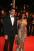 Bassem Samra, Nahed El Sebaï, arriving at the gala screening of the film Baad El Mawkeaa at the 65th Cannes Film Festival. Thursday 17th May 2012, the red carpet at Palais Des Festivals in Cannes, France.
