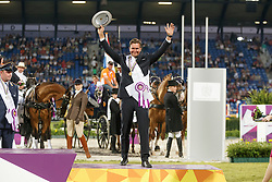 Bronze medal individual, De Ronde Koos, (NED)<br /> Marathon Driving Competition<br /> FEI European Championships - Aachen 2015<br /> © Hippo Foto - Dirk Caremans<br /> 22/08/15