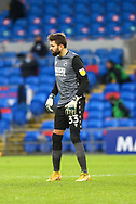 Millwall's Goalkeeper Bartosz Bialkowski (33) in action during the EFL Sky Bet Championship match between Cardiff City and Millwall at the Cardiff City Stadium, Cardiff, Wales on 30 January 2021.
