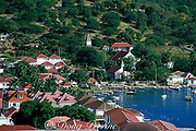 Gustavia Harbor, St. Barts Island, West Indies ( Eastern Caribbean Sea )