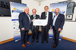 The Wooden Spoon Devon Charity receives their cheque - Ryan Hiscott/JMP - 06/08/2018 - RUGBY - Sandy Park - Exeter, England - Exeter Chiefs Season Launch Dinner