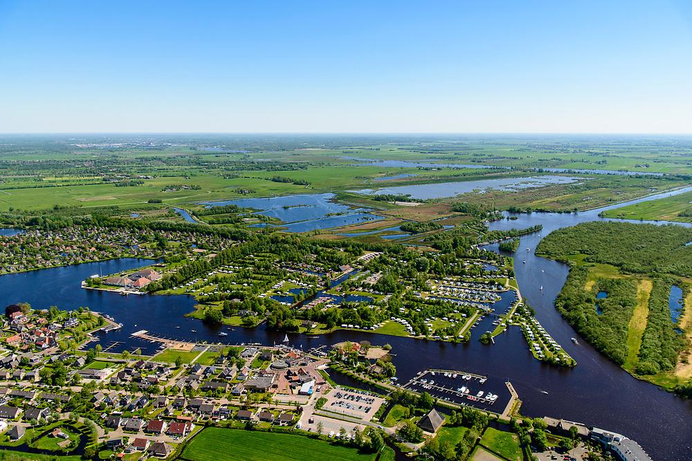 Nederland, Friesland, Gemeente Tietjerksteradeel, 07-05-2018; Earnewald, (Fries: Earnewâld) Nationaal Park Alde Faenen, De Oude Venen.<br /> National Park Alde Faenen.<br /> luchtfoto (toeslag op standard tarieven);<br /> aerial photo (additional fee required);<br /> copyright foto/photo Siebe Swart