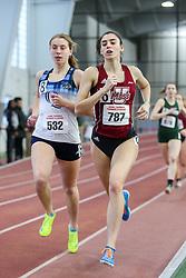 800, heat 6, Curtin, Quinnipiac, Olander, UMass Lowell<br /> BU Terrier Indoor track meet