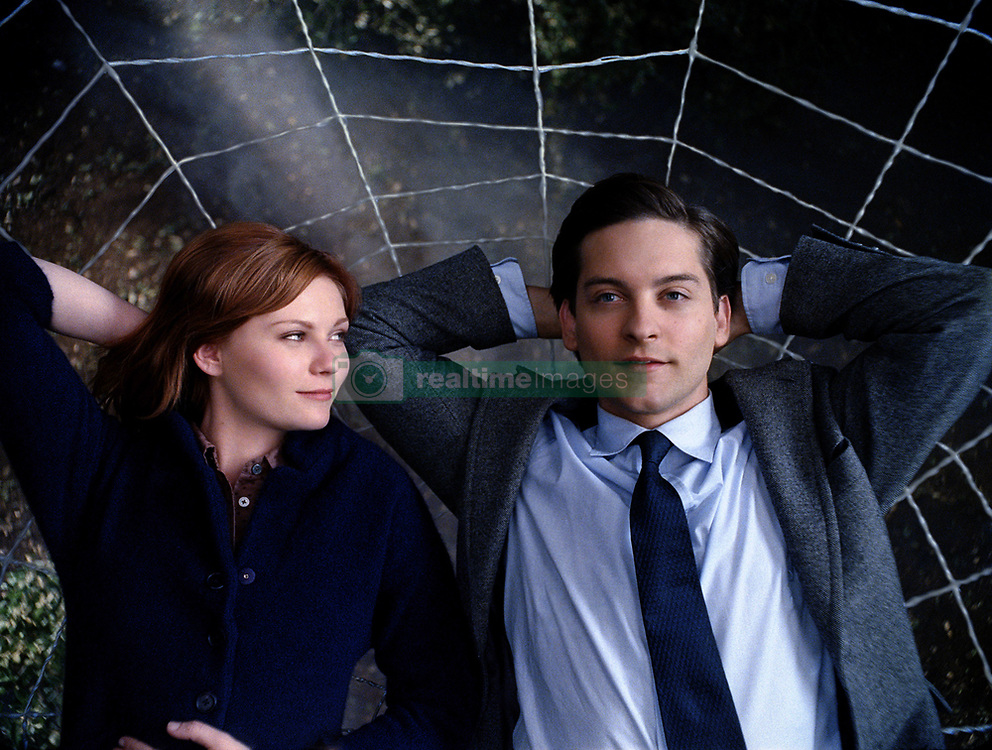 RELEASE DATE: May 2007. MOVIE TITLE: Spider-Man 3. STUDIO: Columbia Pictures/Sony Pictures Entertainment. PLOT: A strange black entity from another world bonds with Peter Parker and causes inner turmoil as he contends with new villains, temptations, and revenge. PICTURED: KIRSTEN DUNST (Mary Jane Watson), TOBEY MAGUIRE (Peter Parker/Spider-Man) (Credit Image: © Entertainment Pictures/Entertainment Pictures/ZUMAPRESS.com)