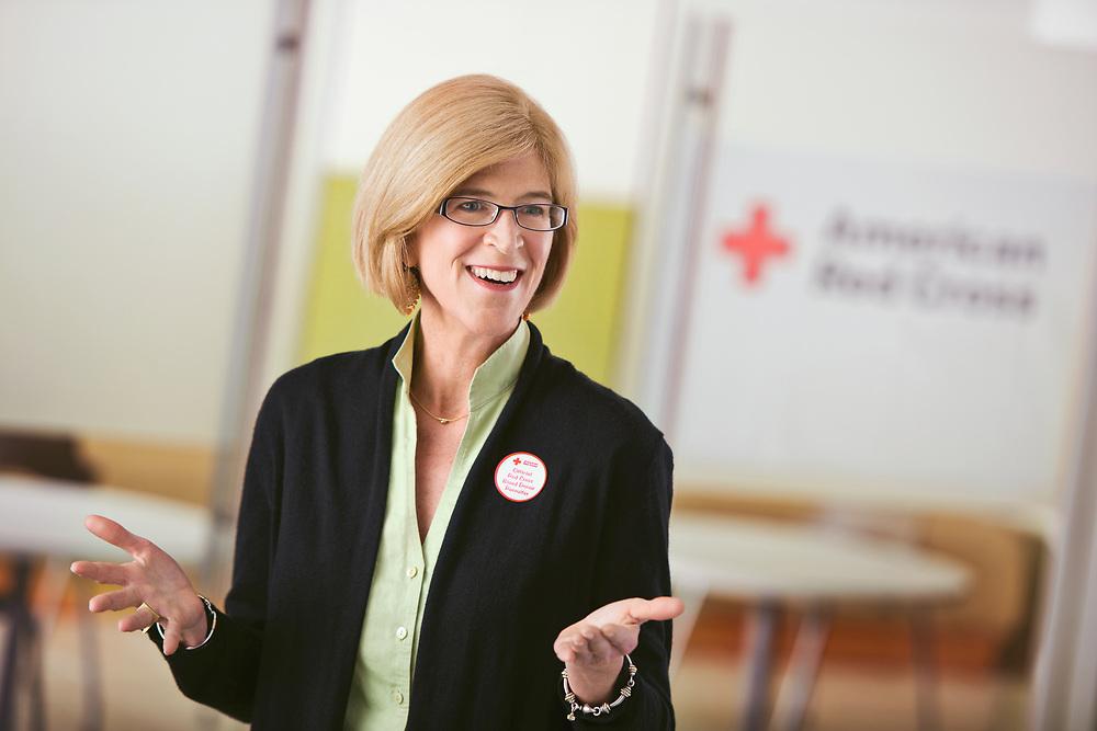Edie Webb, Duke Energy Employee and Red Cross Volunteer / Raleigh NC