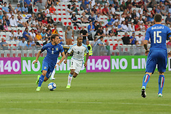 June 7, 2017 - Nice, Alpes-Maritimes, France - Claudio Marchisio (Italy) in action during the international friendly between Italy and Uruguay at Allianz Riviera stadium on June 7, 2017 in Nice, France. (Credit Image: © Massimiliano Ferraro/NurPhoto via ZUMA Press)