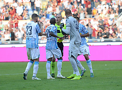 October 20, 2018 - Rome, Lazio, Italy - Vanja Milinkovic Savic during the Italian Serie A football match between A.S. Roma and Spal at the Olympic Stadium in Rome, on october 20, 2018. (Credit Image: © Silvia Lore/NurPhoto via ZUMA Press)