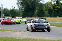 Thomas Holland pictured competing in the 5Club Racing MX-5 Cup. Image captured at Snetterton on July 18/19, 2020 by 750 Motor Club's photographer Jonathan Elsey