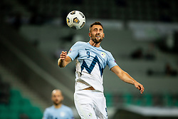 Andraz Sporar of Slovenia during the UEFA Nations League C Group 3 match between Slovenia and Moldova at Stadion Stozice, on September 6th, 2020. Photo by Vid Ponikvar / Sportida