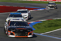 September 30, 2018 - Concord, North Carolina, United States of America - Regan Smith (95) races during the Bank of America ROVAL 400 at Charlotte Motor Speedway in Concord, North Carolina. (Credit Image: © Chris Owens Asp Inc/ASP via ZUMA Wire)