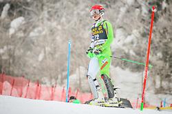 Zan Spilar (SLO) during 1st run of Men's Slalom race of FIS Alpine Ski World Cup 57th Vitranc Cup 2018, on March 4, 2018 in Podkoren, Kranjska Gora, Slovenia. Photo by Ziga Zupan / Sportida
