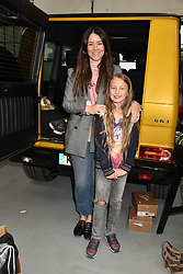 Alex Eagle and her daughter Scarlett Joy at the #SheInspiesMe Car Boot Sale in aid of Women for Women International held Brewer Street Car Park, Soho, London England. 6 May 2017.<br /> Photo by Dominic O'Neill/SilverHub 0203 174 1069 sales@silverhubmedia.com