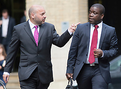 © London News Pictures. 10/09/2012. London, UK . Kweku Adoboli (right) arriving at Southwark Crown Court in London on September 10, 2012 where he is charged with charged with fraud by abuse of position and false accounting.  Adoboli is accused of undertaking unauthorised trading at Swiss bank UBS that resulted in a $2bn loss for the bank, one of the biggest ever cases of alleged unauthorised trading. Photo credit: Ben Cawthra/LNP
