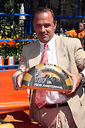 NYC Parks & Recreation Commissioner Adrian Benepe at opening for The NY400 Holland on the Hudson celebrating the values, history and a vision of the future of The Unied States and The Netherlands and held at Bowling Green Park on Septemeber 4, 2009 in New York City..This year we celebrate 400 years of enduring friendship between the Netherlands and the United States. Four hundred years ago, a Dutch ship called the Half Moon guided to the shores of what is now New York City with Captain Henry Hudson at the helm. This led to the establishment of New Amsterdam and the New Netherland colony. Some 167 years later, in 1776, the Dutch were the first to salute the flag of the United States of America. NY400 celebrates the free spirit, openness, entrepreneurship and tolerance of those Dutch-American pioneers, and their continued relevance today and beyond.
