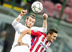 Gareth Bale of Real Madrid vs Ángel Correa of Atlético during football match between Real Madrid (ESP) and Atlético de Madrid (ESP) in Final of UEFA Champions League 2016, on May 28, 2016 in San Siro Stadium, Milan, Italy. Photo by Vid Ponikvar / Sportida