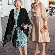 NLD/Amsterdam/20191104 - Maxima bij Prins Bernhard Cultuurfonds Prijs 2019, Koningin Maxima en Prinses Beatrix